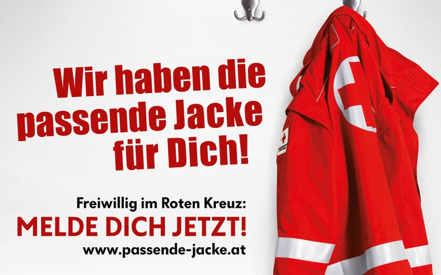 Rotes Kreuz - Wir haben die passende Jacke für Dich!