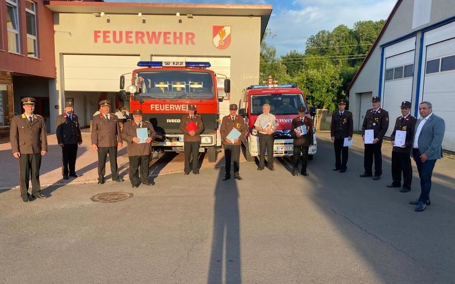 FF Minihof-Liebau - Jahreshauptdienstbesprechung