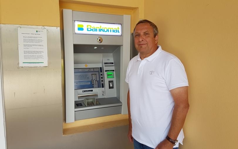 Bankomat in Minihof-Liebau
