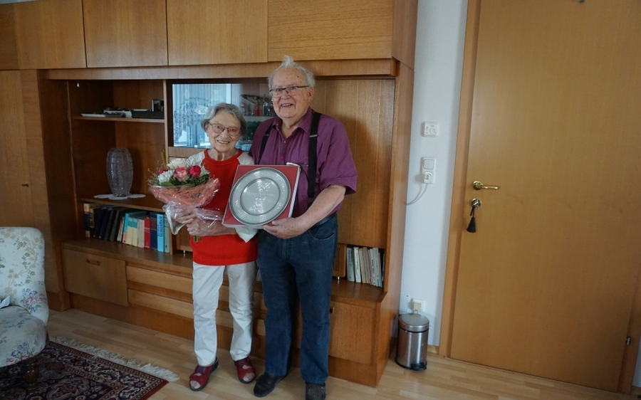 Diamantene Hochzeit: Herbert und Orlida Rettenbacher