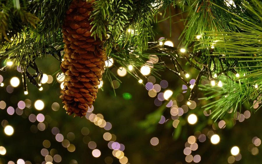 Vorweihnachtlicher Abend mit Weihnachtsmarkt