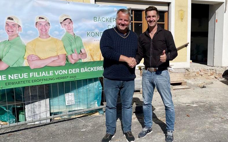 Eröffnung Bäckerei HÜTTER in Minihof-Liebau